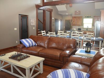 Photo for New Branson Canyon Luxury 7 BR 6.5 Bath, Theater Room Table Rock Lake Sleeps 20+