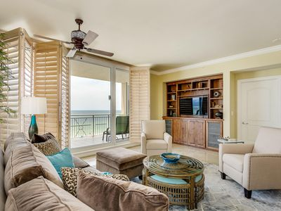 Photo for Updated Beachfront Condo! Spacious Corner Unit with Extra Large Balcony. Tons of