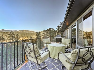 Photo for Private Evergreen Home w/Firepit & Views near Lake
