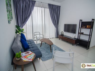 Photo for Tranquil 2+1Bed/2Bath, Clio Residence, IOI Resort