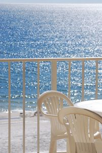 Watch the water sparkle from a direct oceanfront balcony!  You want to be here!!