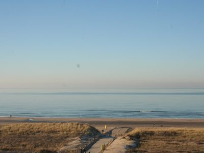 Photo for Apartment on the boulevard of Noordwijk with Beachview and free private Parking