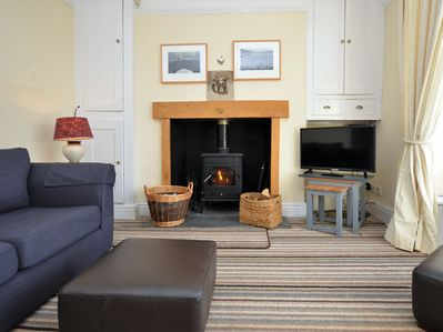 Relax in a cosy atmosphere after a day of exploring the coastline