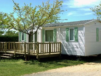 Photo for Camping La Nouvelle Croze **** - Mobil Home Family Deluxe 4 Rooms 6 People