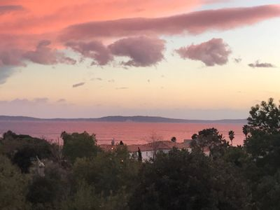 Photo for A charming villa 5 minutes walk from the Canadel beach
