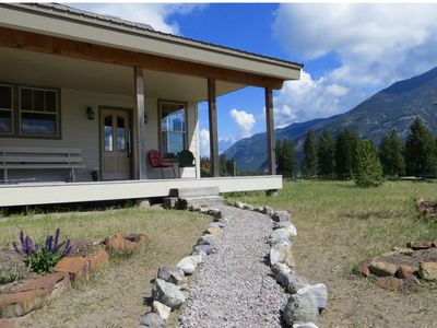 Photo for Epic Views - Peaceful, Eco-friendly Home - 30 Minutes to Glacier National Park
