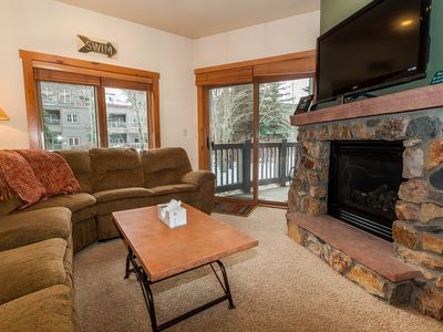 Photo for Balcony Overlooks Pool & Hot Tub, King Bed, Updated Kitchen, Free WIFI