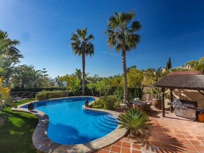 Photo for Villa Kalinda luxury family sea views villa in Marbella