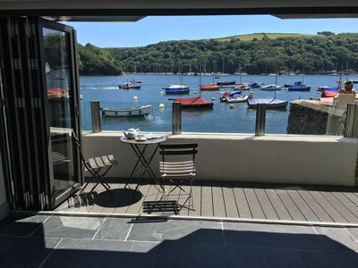Photo for Newly Refurbished, Stunning Waterfront Property with Running Mooring, Fowey.