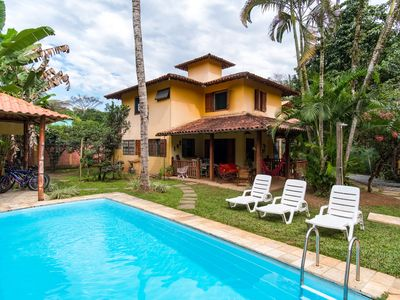 Photo for Beautiful house with pool near historic center of Paraty in quiet neighborhood