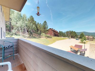 Photo for NEW LISTING! Enjoy mountain view, jet tub, fireplace from condo- ski access!