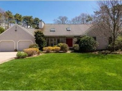 Photo for Falmouth 4 BR, 4 BA Home, Private Pool, Dock Access