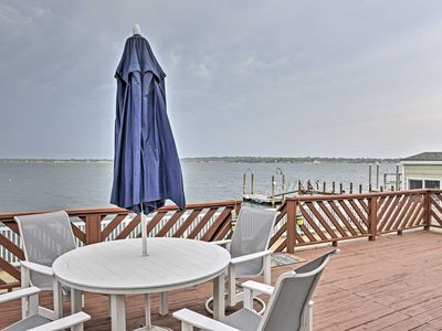 Photo for Home w/2 Kayaks, Deck & Views on Narragansett Bay!