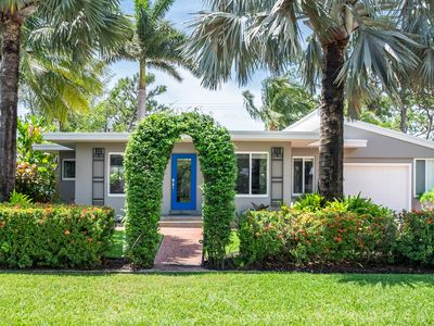 Photo for Wilton Manors Mid Century Modern Home, Recently Renovated with Private Pool