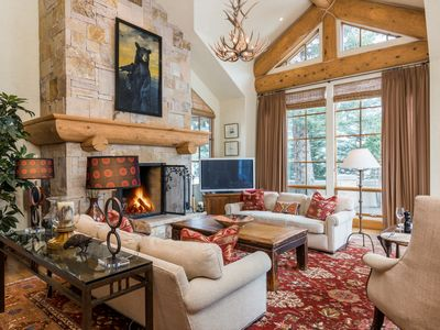Photo for Modern mountain home steps from downtown Ketchum with free ski shuttle access