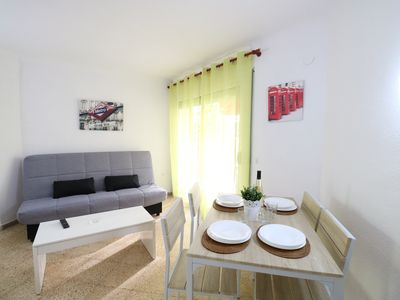Photo for Jazmin building, centrally located and 3 minutes walk from the beach