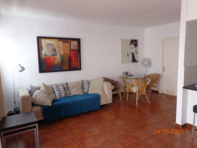 Photo for Comfortable Quiet Apartment With Sea Views, 10 Mins Taxi From Puerto Del Carmen