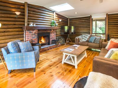 Photo for Barbers Lodge - A beautifully renovated log cabin with rustic charm