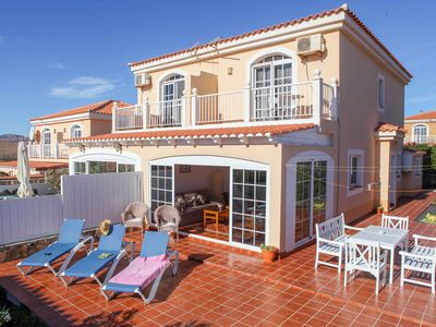 Photo for Perfect holiday home with sea view at the Fuerteventura Golf Resort, WLAN, Netflix