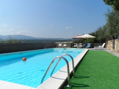 Photo for Private villa in Tuscany with pool ,air conditioned , mosquito nets, adsl/wi. fi