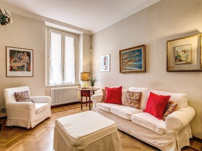 Photo for Apartment in the center of Rome with Internet, Air conditioning, Lift, Washing machine (748248)