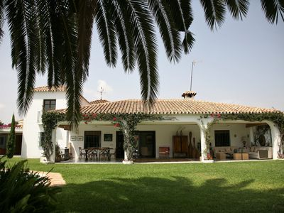 Photo for Beautiful house in Guadalmina baja, overlooking the river and golf 800m from the beach