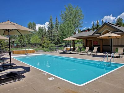 Photo for Hot Tubs, On Shuttle Route,  Private Washer/Dryer, Deluxe End Unit Townhome,