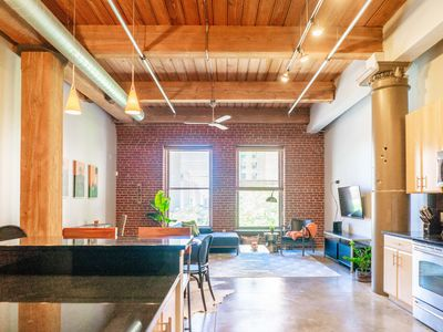 Photo for Freshly Designed 2BR 2BA Loft in the Heart of St. Louis
