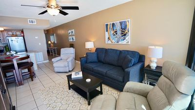 Photo for DIRECT GULF FRONT UNIT IN THE HEART OF GULF SHORES!