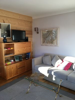Photo for In the center of Megève, a quiet and very comfortable apartment
