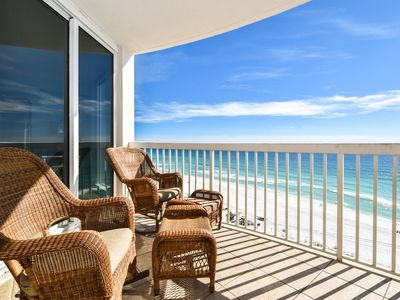 Photo for Newly Remodeled Beachfront Condo. Two Bedrooms Facing Beach! Free Beach Service