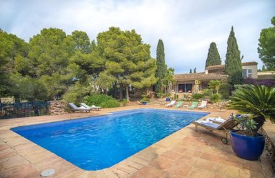 Photo for TERRACOTA, comfortable villa in the hills of Calp, for 6 guests.