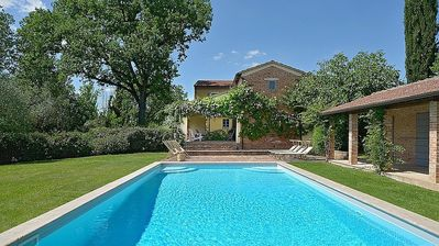 Photo for Wine Lovers! Luxury House on 250 Acre Vineyard, AC & Private Pool