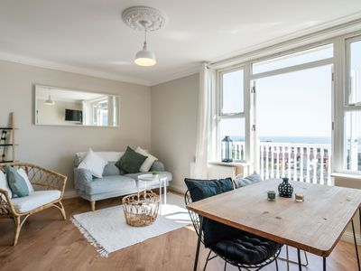 Photo for Victorian Apartment with Balcony and Sea Views