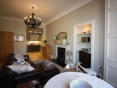 Photo for Victorian flat in Hillside,  City Centre