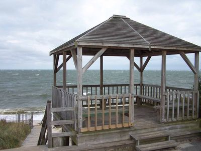 Photo for Quaint Cottage in Private Beach Community with Beach, Tennis Courts