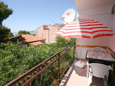 Photo for Three bedroom apartment with terrace and sea view Zaostrog (Makarska)