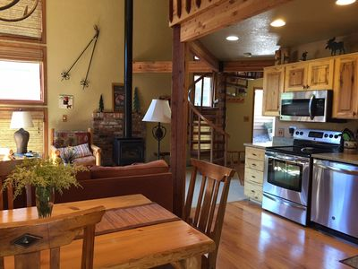 Photo for Excellent Location, Ski-in Ski-out, New PRIVATE Hot Tub on beautiful new deck