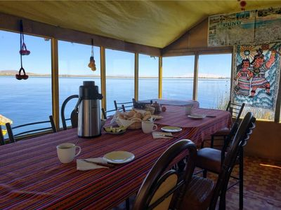 Photo for 1BR House Boat Vacation Rental in Puno, Puno