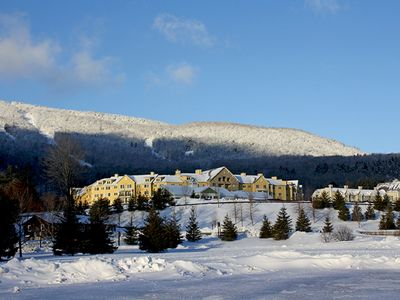 Photo for Ski-in/out , 3  Bedrm &  3 Bath, Luxury Okemo Penthouse Condo at Jackson Gore