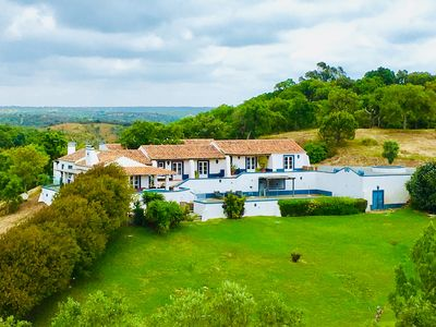 Photo for Monte da Corte -  Alentejo Country House with pool & tennis, close to beach