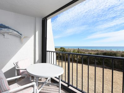 Photo for Station One - 1D Seascape-Oceanfront condo with community pool, tennis, beach