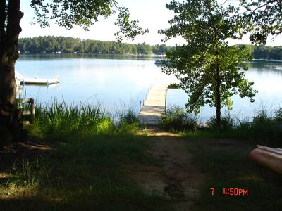 Photo for Lakeside cottage just 60 min north of Madison