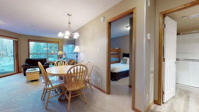 Photo for Prime Ski-in Ski-out Location! Pool, Hot tubs, BBQ, sleeps 8 (242)