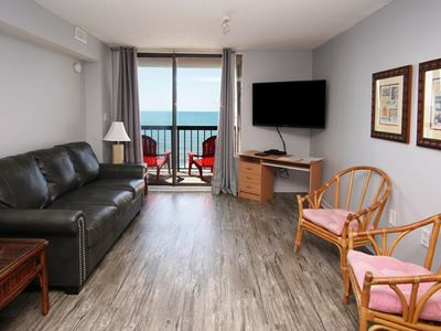Photo for Waterpointe II 902 Spacious 3 Bedroom Condo With Direct Oceanfront Balcony