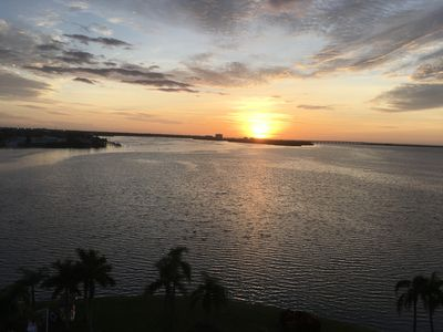 Photo for Water View Living on Tampa Bay - See Dolphins and Manatees From Balcony