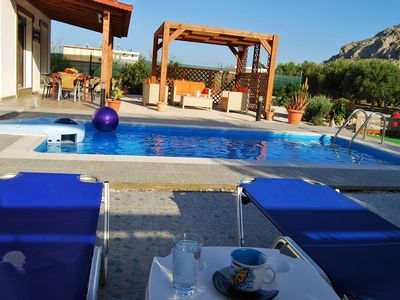 Photo for Villa With Private Pool  Peaceful Location, five Minutes from the Beach