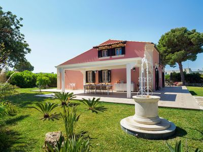 Photo for Wonderfully well equipped house with lots of outside space just 300m from sea