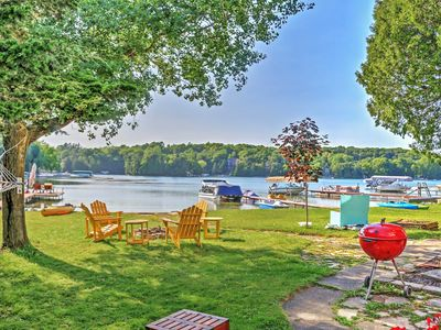 Photo for NEW! Bright 4BR Plymouth Cottage on Crystal Lake