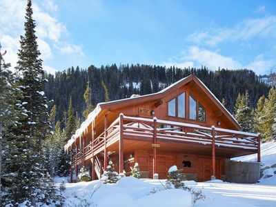 Photo for Mountain Village Ski-in/out Log Home - 5BR/3BA, Sleeps 12